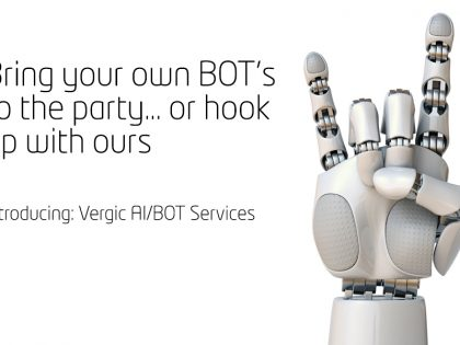 Bring your own BOT's to the party… or hook up with ours