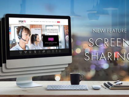 "We just added ""Screen sharing"" to our collaborative toolbox"