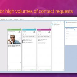 Vergic Engage help businesses with high volume traffic used directly in Salesforce