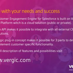 Scalable product platform for Salesforce